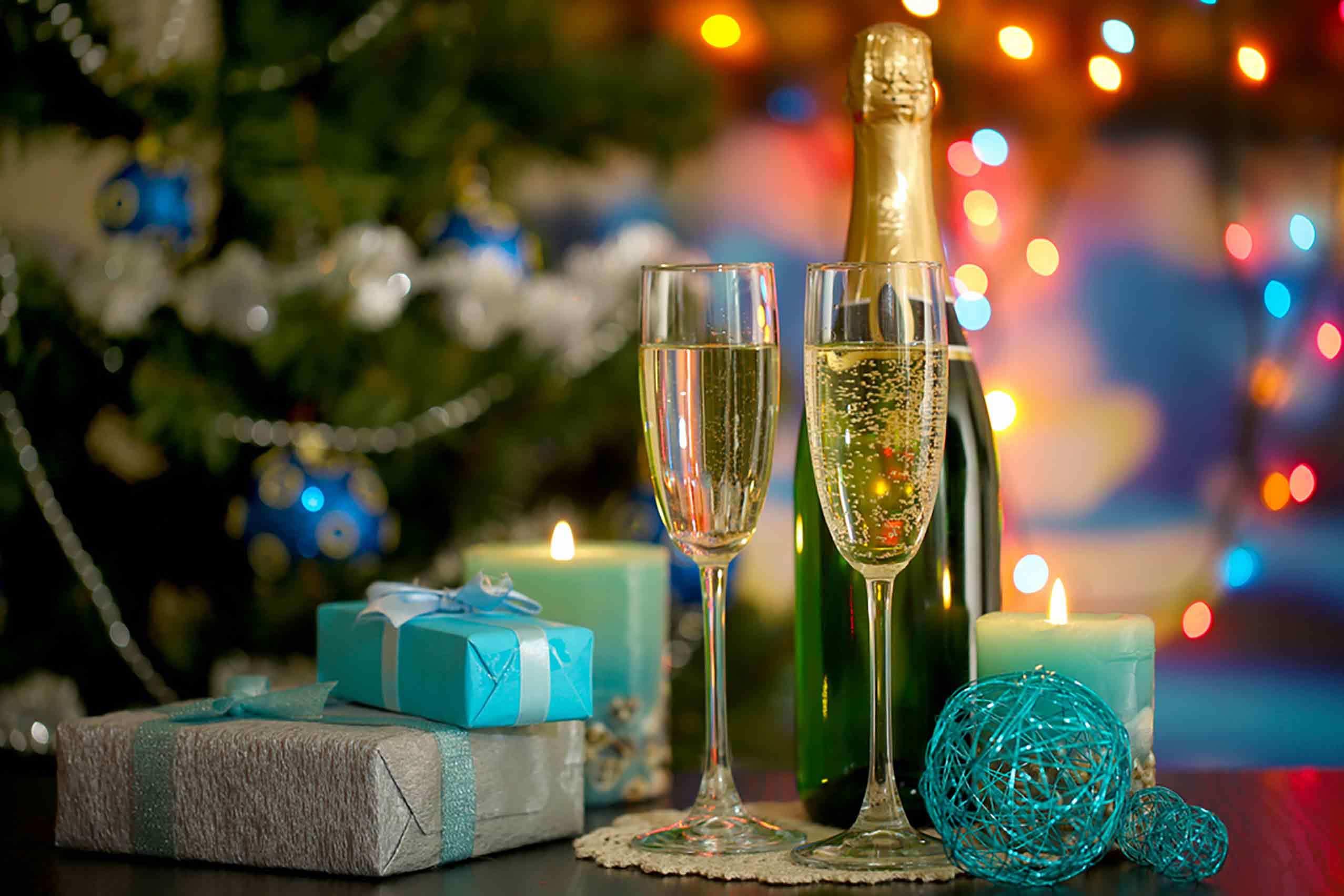 Новый год Шампанское