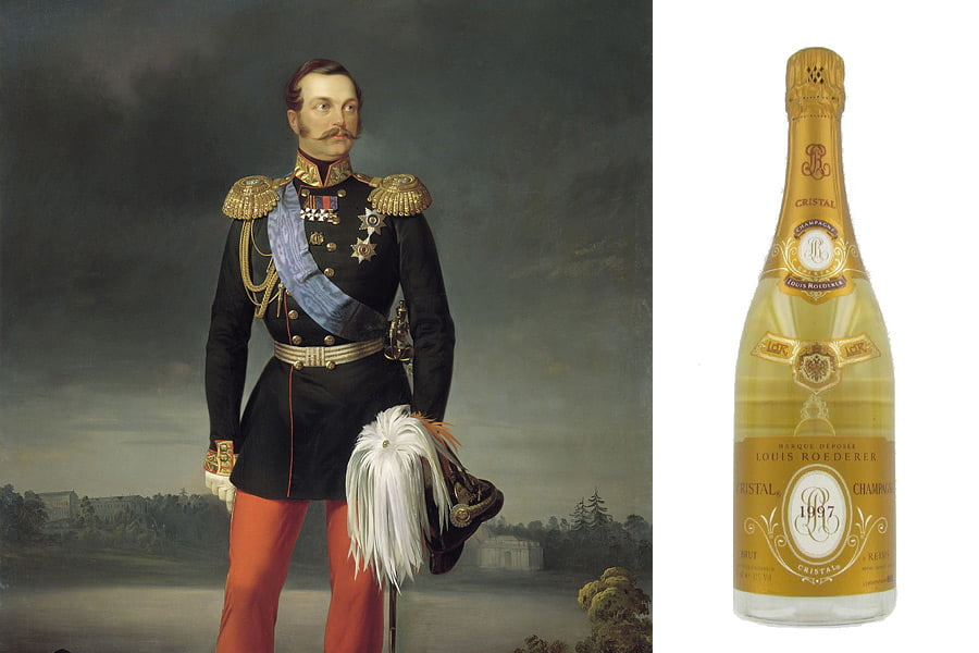 "Шампанское ""Александр II"""