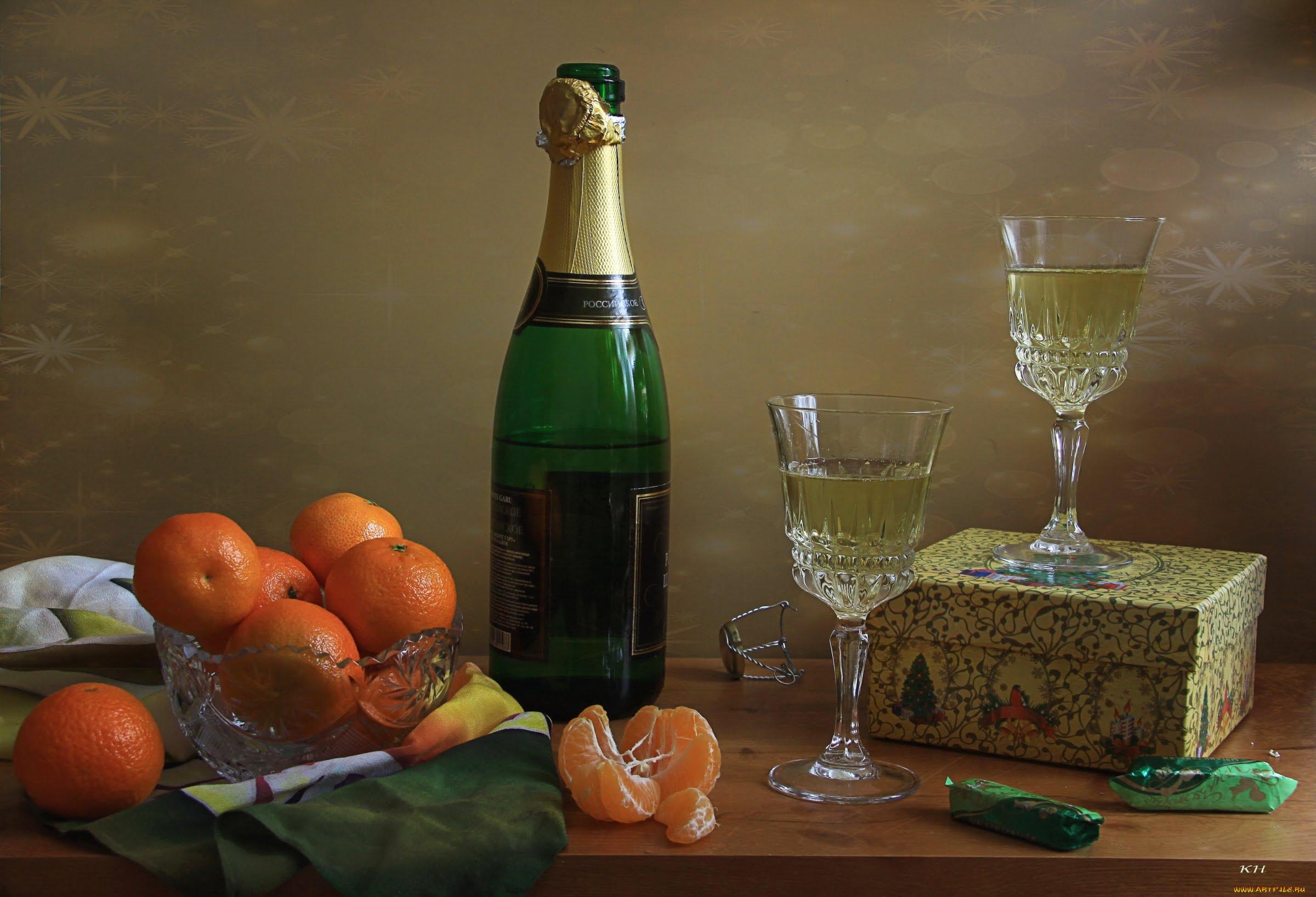 Новый год и мандарины