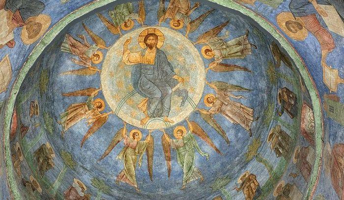 Домонгольские фрески Мирожского монастыря