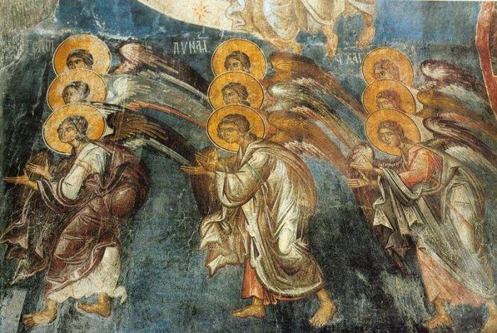 Псков Юнеско. Домонгольские фрески Мирожского монастыря