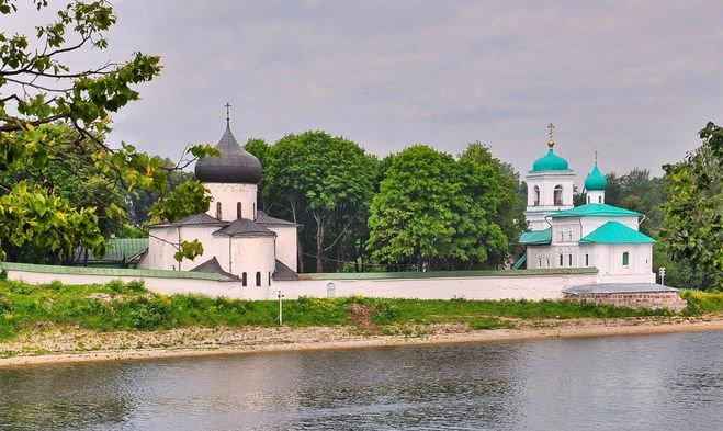 Псков Юнеско. Мирожский монастырь