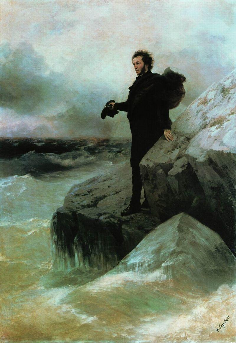 Прощание Пушкина с морем. 10 фактов о жизни Репина.