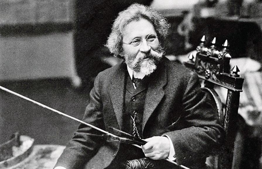 Фотография Репина. 1909 год