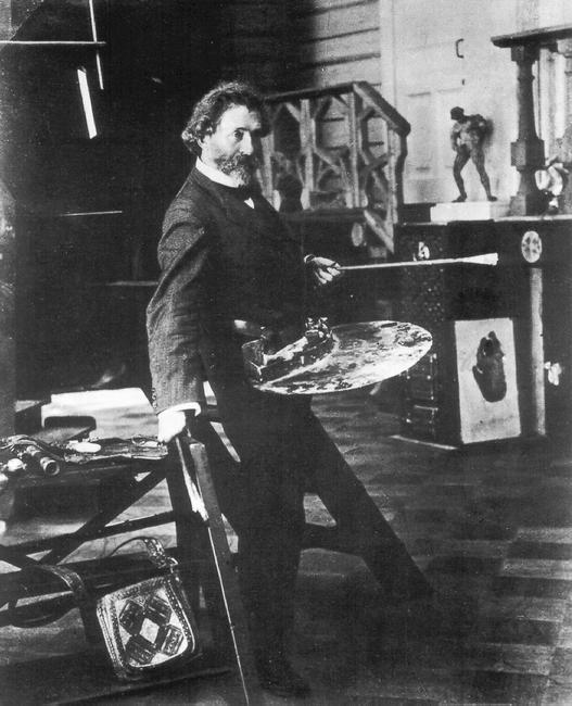 Репин. Пенаты 1905