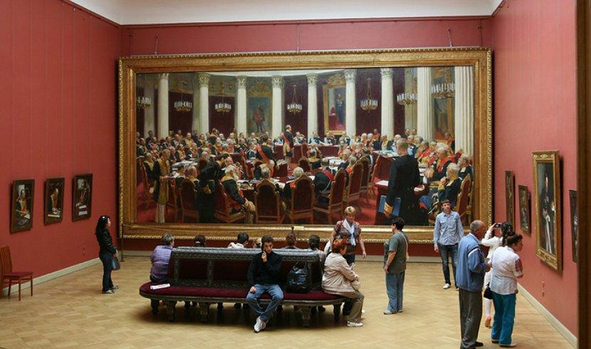 Торжественное заседание Государственного совета 7 мая 1901 года, в день столетнего юбилея со дня его учреждения. 10 фактов о жизни Репина.