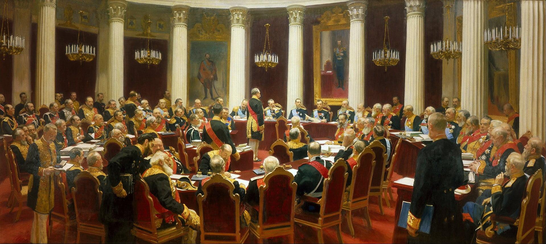 Торжественное заседание Государственного совета 7 мая 1901 года. 10 фактов о жизни Репина.