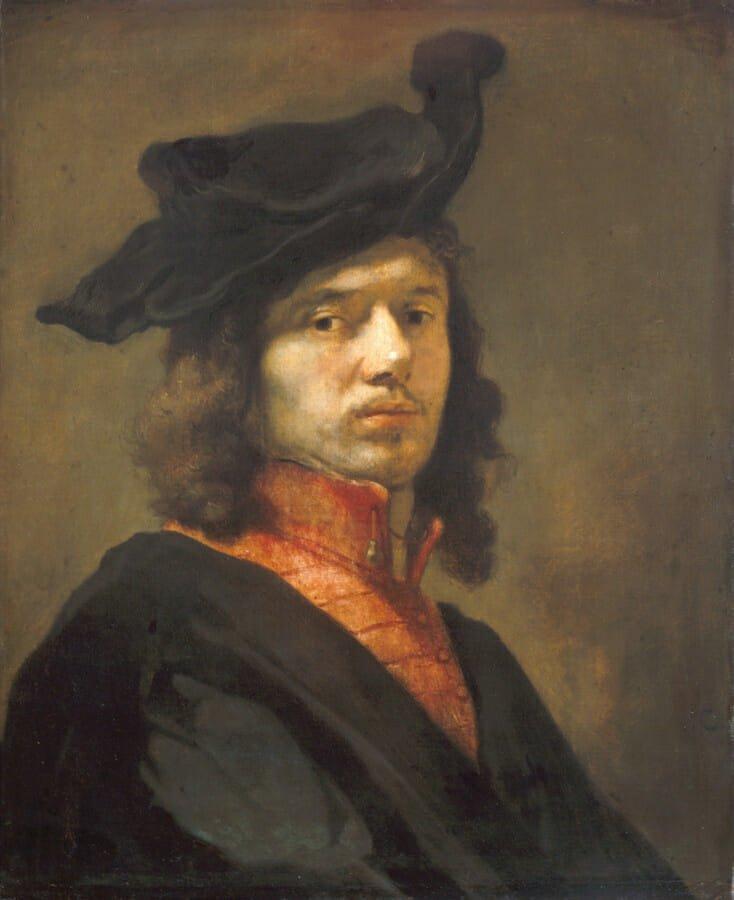 Автопортрет. Фабрициус. 1645. Старая Пинакотека. Мюнхен