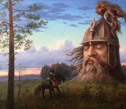 Говорящая голова в Сергиевке Петергоф