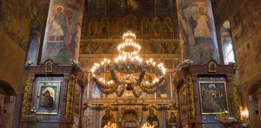 сретенский монастырь интерьер. Великий пост