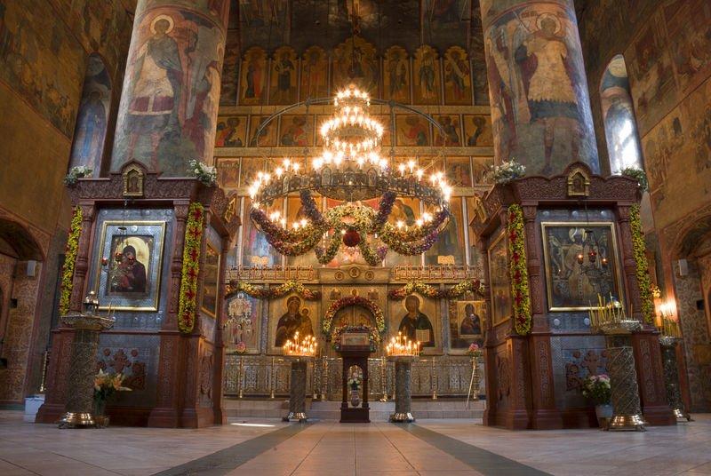 сретенский монастырь интерьер