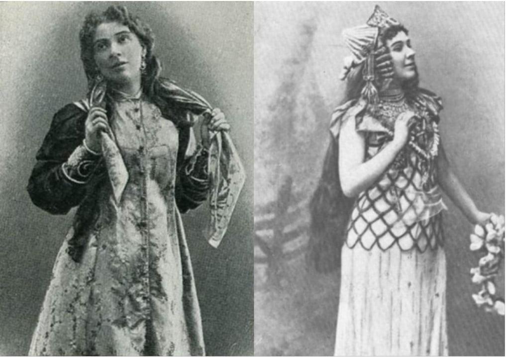 Жена Михаила Врубеля. забела