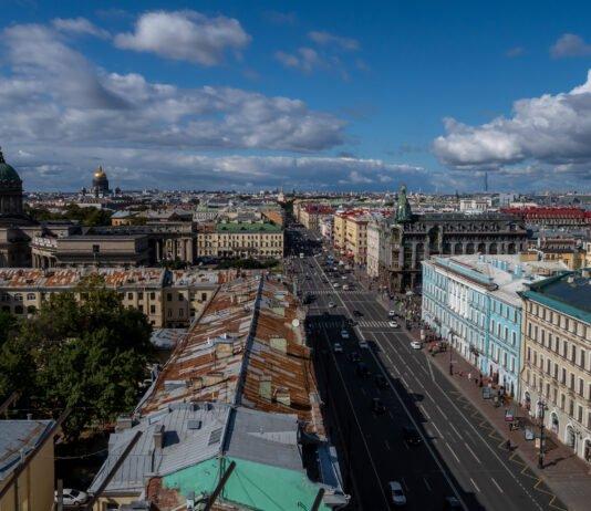 Смотровая площадка. Санкт-Петербург. Думская башня