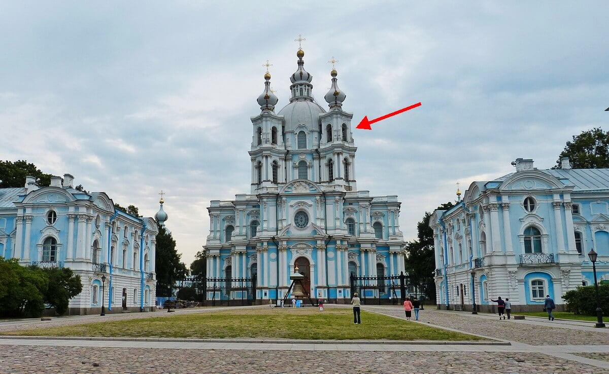 Смотровая площадка Смольного собора