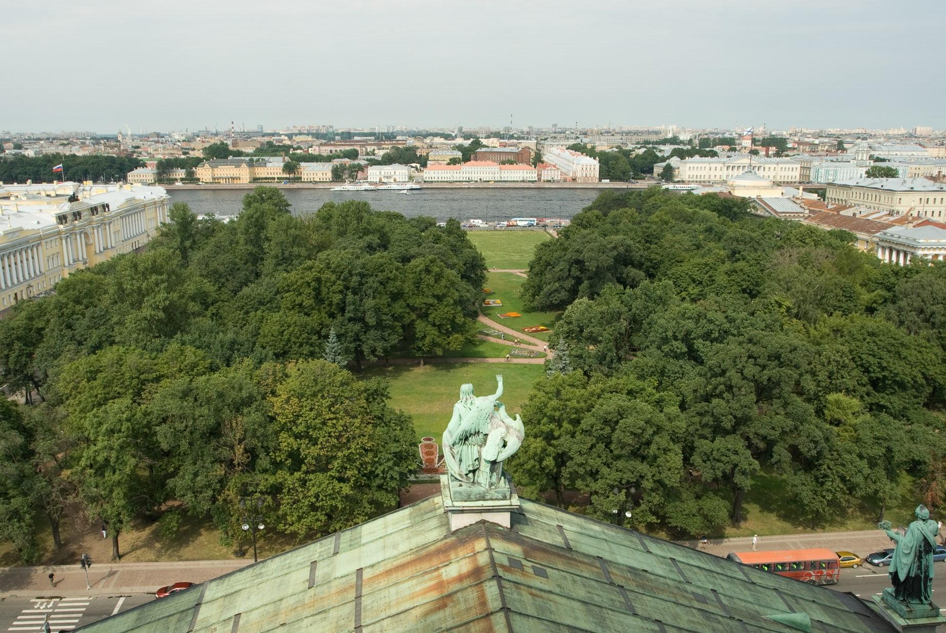 Смотровая площадка Исаакиевского собора