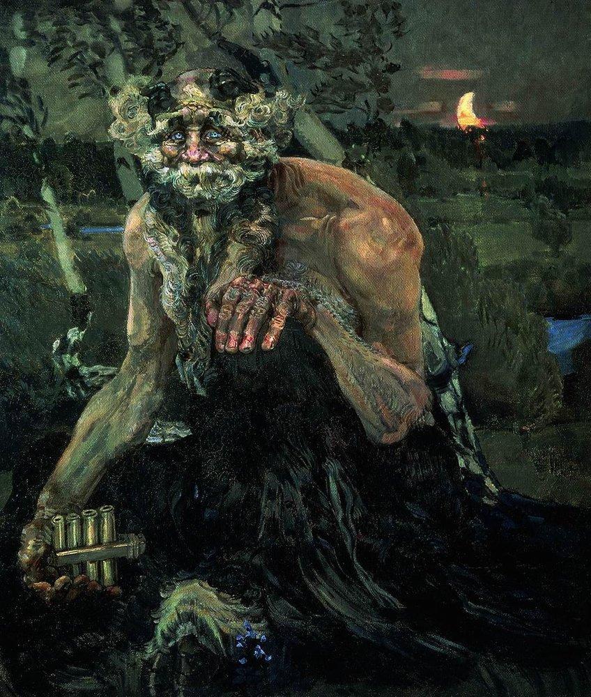 Михаил Врубель. Пан. 1899. Третьяковская галерея